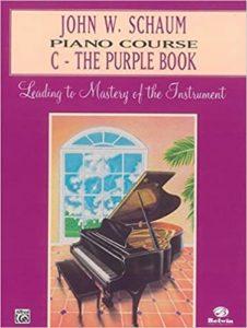 Schaum Piano Course: The Purple Book
